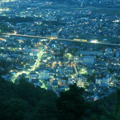 Asamaonsen Night View