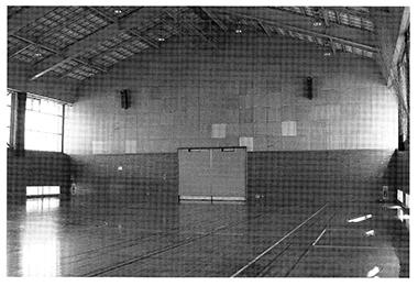 松本市岡田体育館